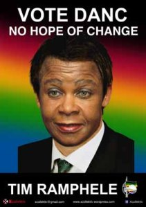 Election Poster TRamphele
