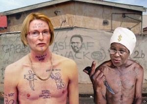 In a joint statement that shocked gang members and the public last week, two of South Africa's most prominent gang bosses announced the conclusion of merger talks that was set to escalate into country-wide gang wars; but now, scarcely a week later, the supposed agreement is in tatters as recriminations and mud-slinging have replaced the cosy publicity stunt that has left 'Killa' Zille and Ramphele 'Blackface' scrambling to capture the hearts and minds of gullible South Africans.